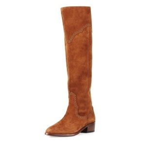 Frye Ray grommet over the knee boots